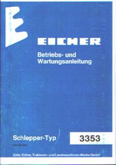 Betriebs- und Wartungsanleitung Typ: 3353