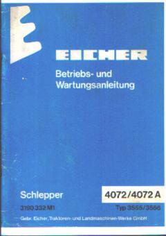 Betriebs- und Wartungsanleitung 4072 Typ: 3555 ; 4072 A Typ: 3556