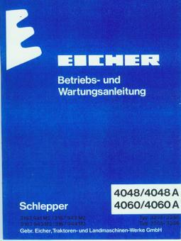 Betriebs- und Wartungsanleitung  4048 / 4048 A ; 4060 / 4060 A